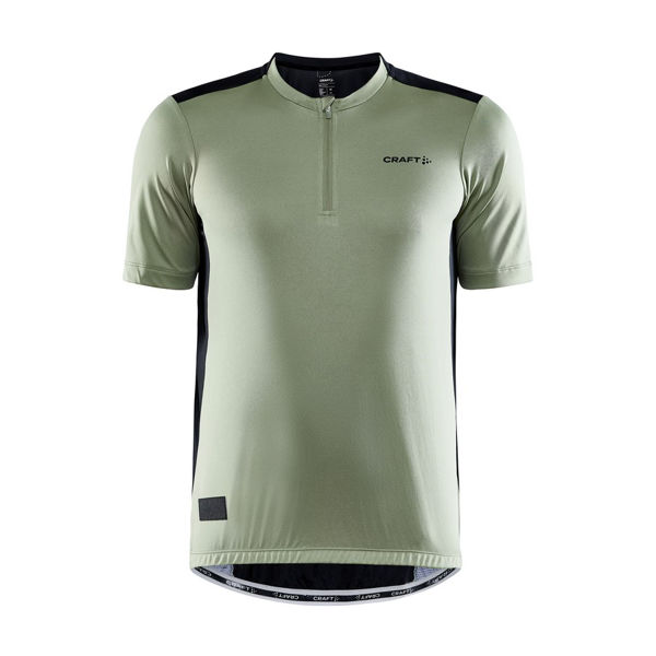 Picture of CRAFT BIKE JERSEY CORE OFFROAD SS FOREST/BLACK FOR MEN