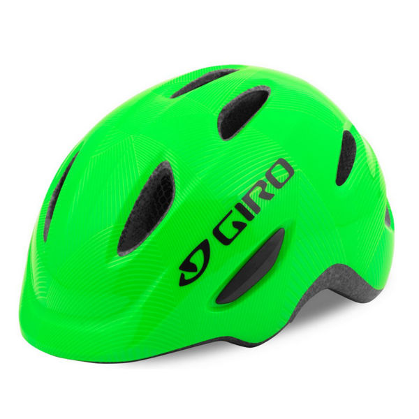 Picture of GIRO BIKE HELMET SCAMP GREEN/LIME FOR JUNIORS