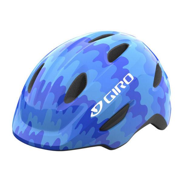 Picture of GIRO BIKE HELMET SCAMP BLUE SPLASH FOR JUNIORS