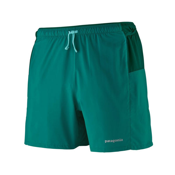"""Picture of PATAGONIA RUNNING SHORT STRIDER PRO 5"""" BOREALIS GREEN FOR MEN"""