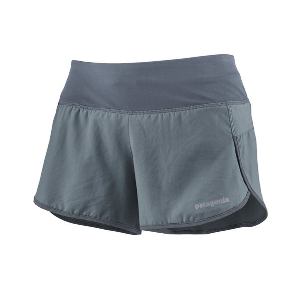 "Picture of PATAGONIA RUNNING SHORT STRIDER 3 1/2"" PLUME GREY FOR WOMEN"