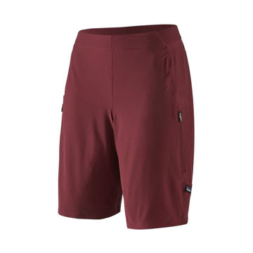 """Picture of PATAGONIA SHORTS TYROLEAN 9½"""" CHICORY RED FOR WOMEN"""