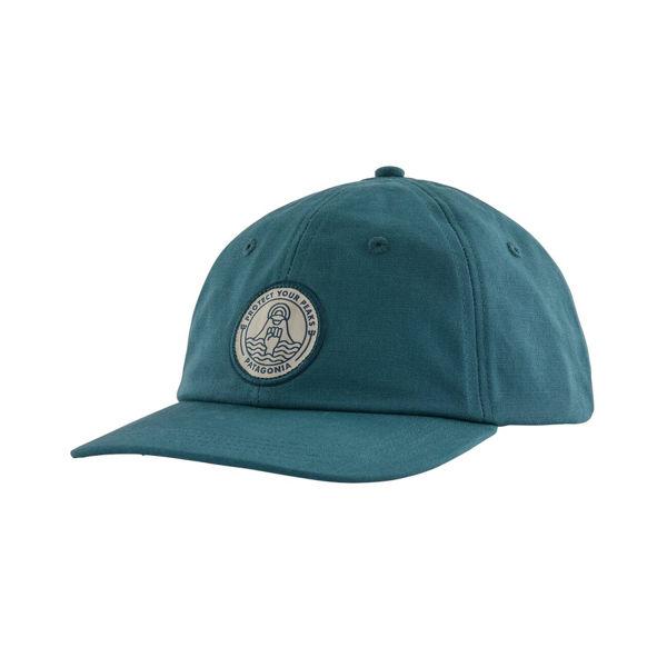 Picture of PATAGONIA CAP PEAK PROTECTOR BADGE TRAD ABALONE BLUE