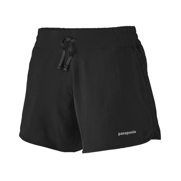 "Picture of PATAGONIA RUNNING SHORT NINE TRAILS 6"" BLACK FOR WOMEN"