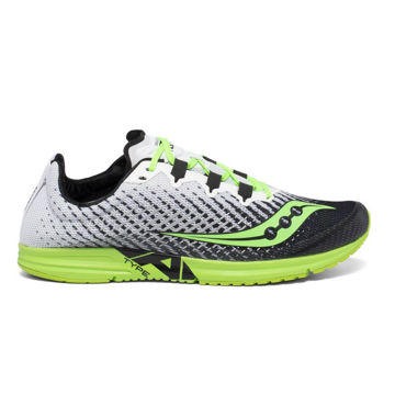 Picture of SAUCONY ROAD RUNNING SHOES TYPE A9 WHITE/SLIME FOR MEN