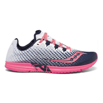 Picture of SAUCONY ROAD RUNNING SHOES TYPE A9 WHITE/PINK FOR WOMEN