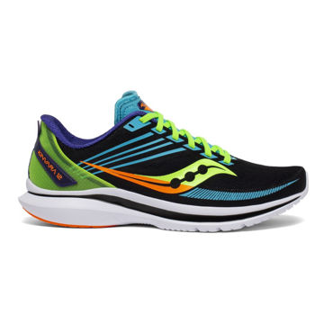 Picture of SAUCONY ROAD RUNNING SHOES KINVARA 12 FUTURE/BLACK FOR MEN
