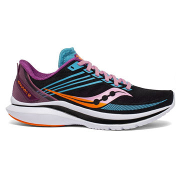 Picture of SAUCONY ROAD RUNNING SHOES KINVARA 12 FUTURE/BLACK FOR WOMEN