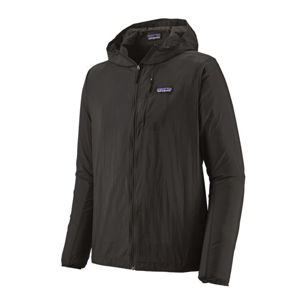 Picture of PATAGONIA RUNNING JACKET HOUDINI BLACK FOR MEN