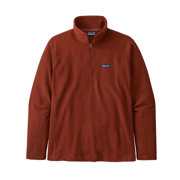 Picture of PATAGONIA SWEATER MICRO D BARN RED FOR MEN