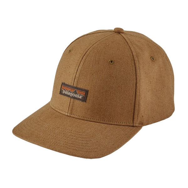 Picture of PATAGONIA CAP TIN SHED CORIANDER BROWN