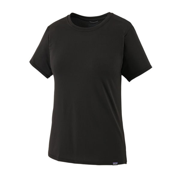 Picture of PATAGONIA RUNNING JERSEY CAPILENE COOL BLACK FOR WOMEN