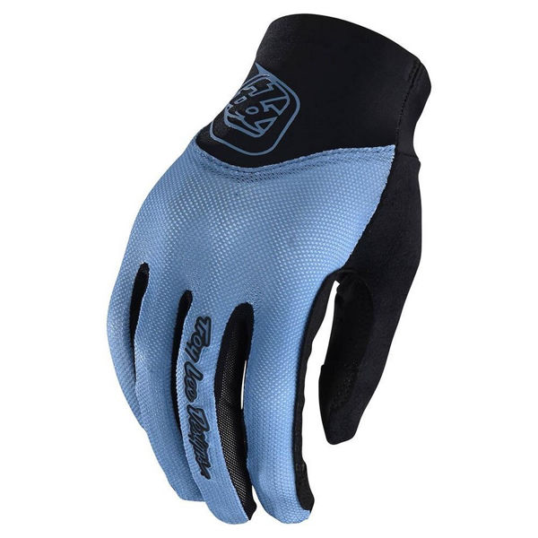 Picture of TROY LEE DESIGN BIKE GLOVES ACE 2.0 SMOKEY BLUE FOR WOMEN