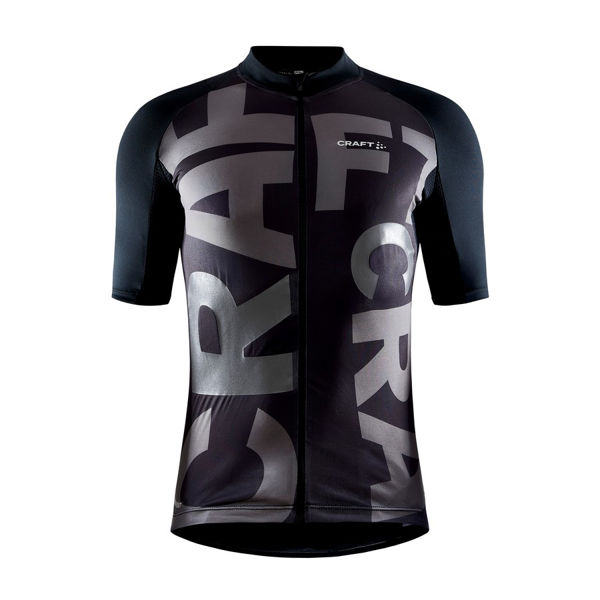 Picture of CRAFT BIKE JERSEY ADV ENDUR LUMEN BLACK FOR MEN