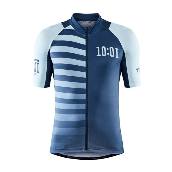 Picture of CRAFT BIKE JERSEY ADV HMC ENDUR GRAPHIC FJORD/HEAL FOR MEN