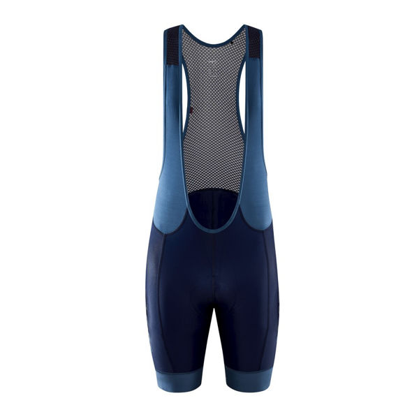 Picture of CRAFT BIB SHORTS ADV HMC ENDUR BIB BLAZE/FJORD FOR MEN