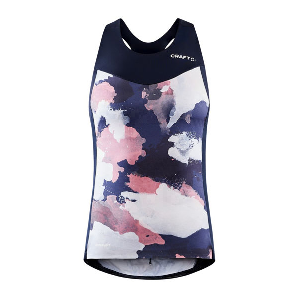 Picture of CRAFT BIKE JERSEY ADV ENDUR BLAZE/CORAL FOR WOMEN