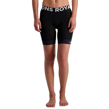 Picture of MONS ROYALE LINER WITH CHAMOIS ENDURO BLACK FOR WOMEN