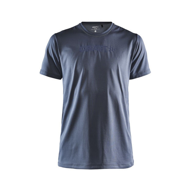 Picture of CRAFT RUNNING JERSEY CORE ESSENCE SS MESH ASPHALT FOR MEN
