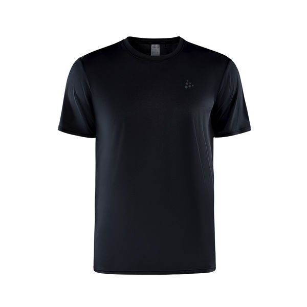 Picture of CRAFT RUNNING JERSEY ADV CHARGE SS BLACK FOR MEN