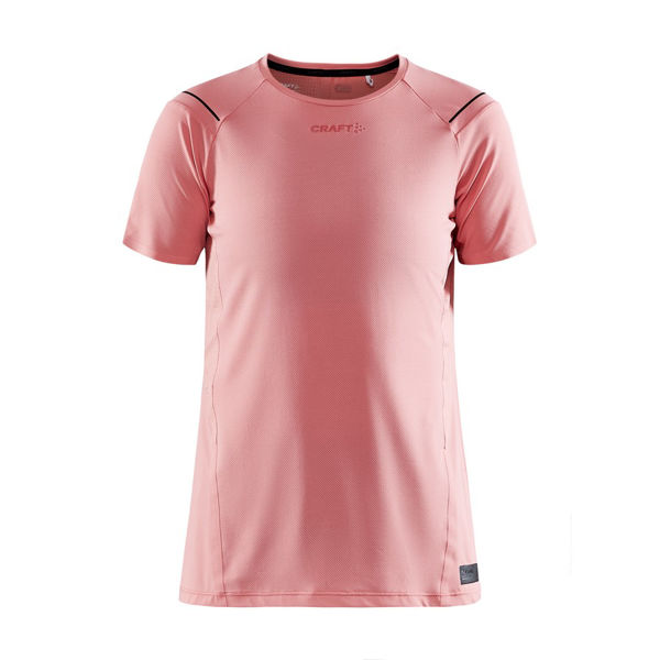 Picture of CRAFT RUNNING JERSEY PRO HYPERVENT SS CORAL FOR WOMEN