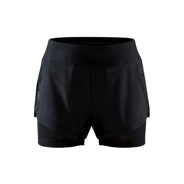 Picture of CRAFT RUNNING SHORT ADV ESSENCE 2-IN-1 BLACK FOR WOMEN