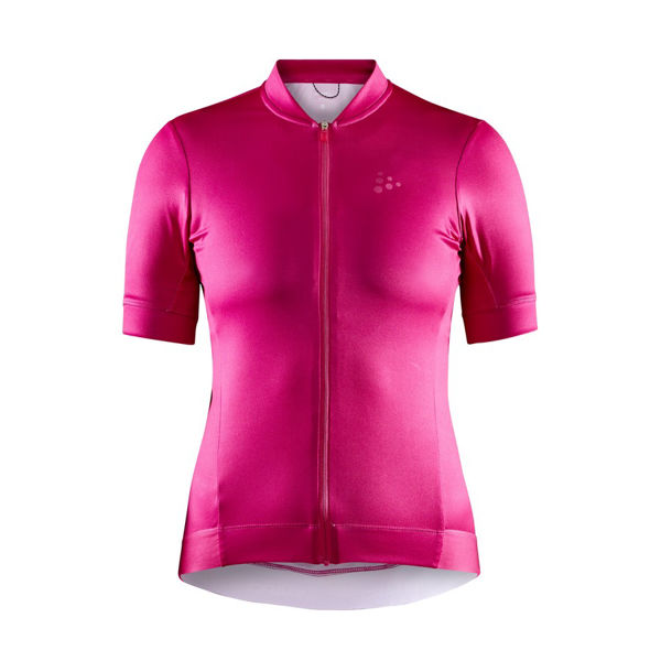 Picture of CRAFT BIKE JERSEY ESSENCE PINK FOR WOMEN