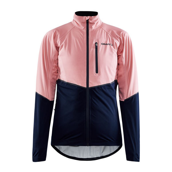 Picture of CRAFT BIKE JACKET ADV ENDUR HYDRO BLAZE/CORAL FOR WOMEN