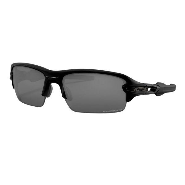 Image sur LUNETTES SMITH FLAK XS POLISHED BLACK W/ PRIZM BLACK IRIDIUM