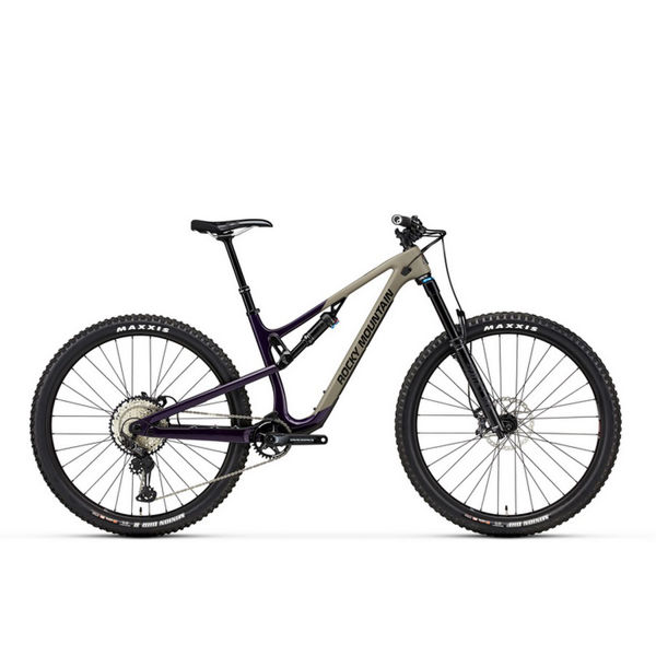 "Picture of ROCKY MOUNTAIN MOUNTAIN BIKE INSTINCT CARBON 50 29"" PURPLE/BEIGE 2021"