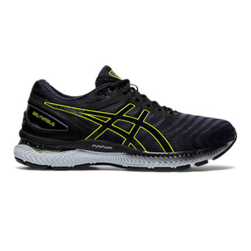 Picture of ASICS ROAD RUNNING SHOES GEL-NIMBUS 22 CARRIER GREY/LIME ZEST FOR MEN