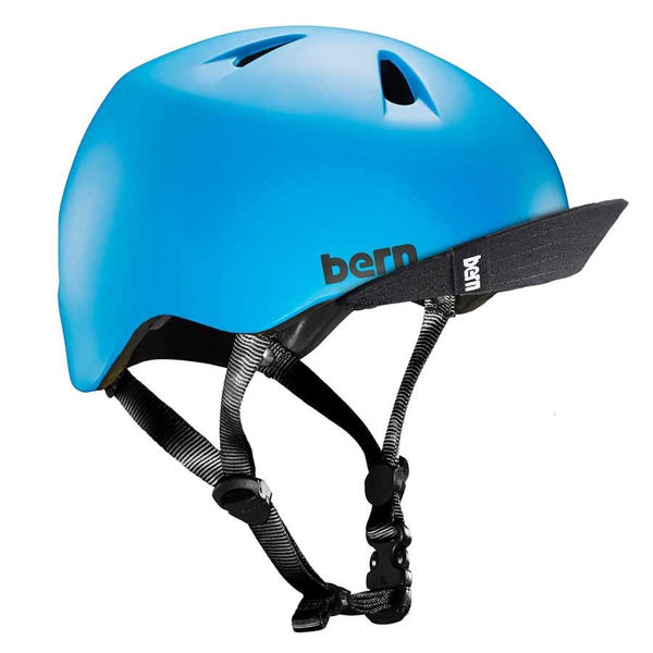 Picture of BERN BIKE HELMET TIGER BLUE FOR JUNIORS