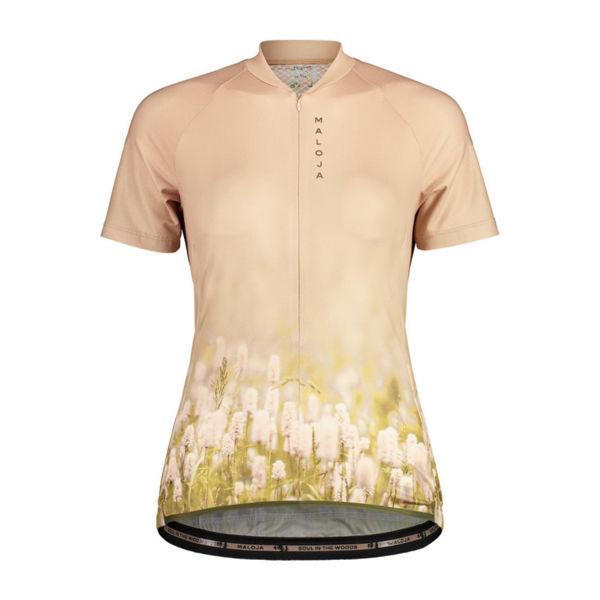 Picture of MALOJA BIKE JERSEY LORBEEREM. 1/2 BLOOM FLOWERS FOR WOMEN