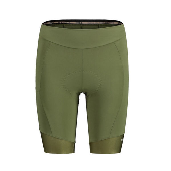 Picture of MALOJA CYCLING SHORTS BARLAMINAM. 1/2 MOSS FOR WOMEN