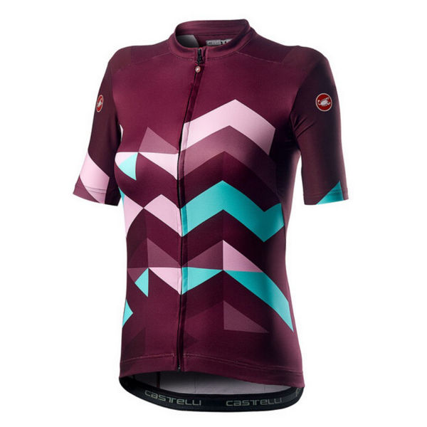 Picture of CASTELLI BIKE JERSEY UNLIMITED SANGRIA FOR WOMEN