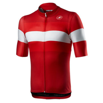 Picture of CASTELLI BIKE JERSEY LAMITICA RED FOR MEN