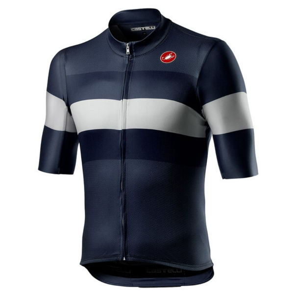 Picture of CASTELLI BIKE JERSEY LAMITICA SAVILE BLUE FOR MEN