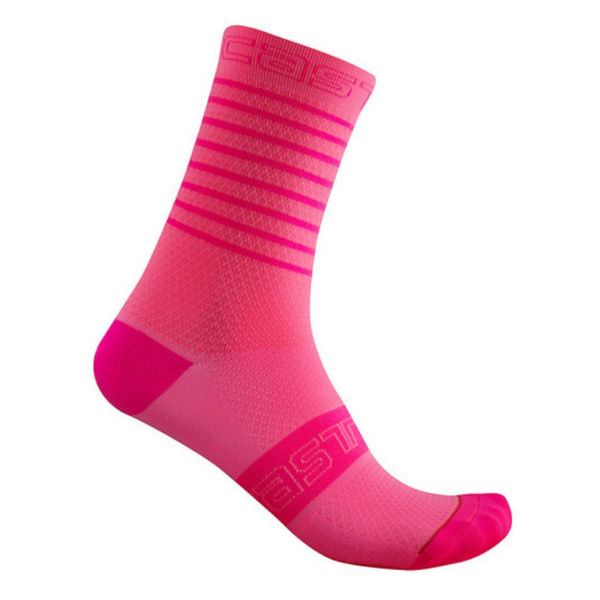 Picture of CASTELLI SOCKS SUPERLEGGERA 12 PINK FOR WOMEN
