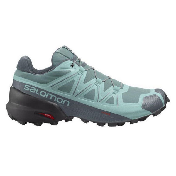 Image sur SOULIERS DE COURSE EN SENTIER SALOMON SPEEDCROSS 5 TRELLIS/STORMY WEATHER/PHANTOM POUR FEMME