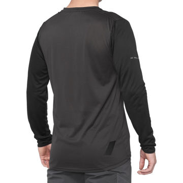 Picture of 100% BIKE JERSEY RIDECAMP BLACK/CHARCOAL FOR MEN