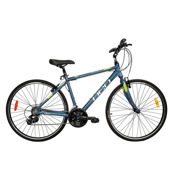 Picture of DCO HYBRID BIKE DOWNTOWN 701 20'' LIME/GREY 2021
