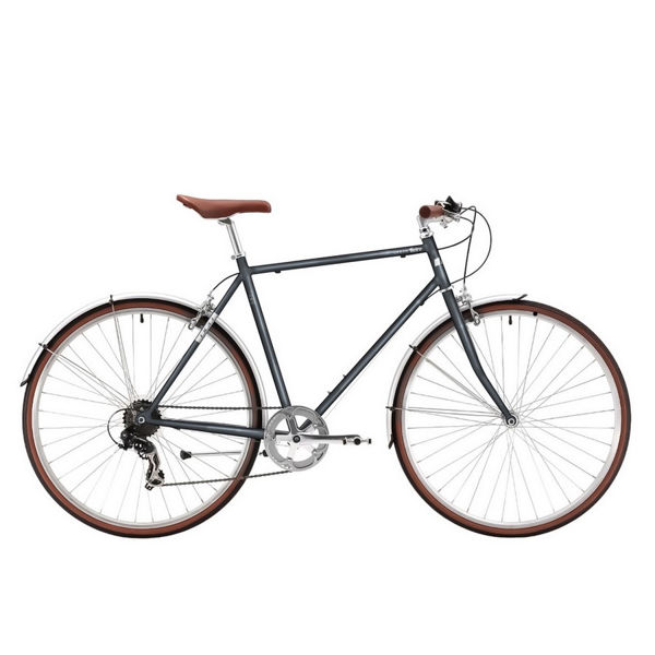 "Picture of DCO HYBRID BIKE URBAN RETRO 18"" CHARCOAL 2021"