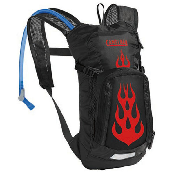 Picture of CAMELBACK BIKE HYDRATION AND NUTRITION MINI MULE 50OZ BLACK/FLAMES