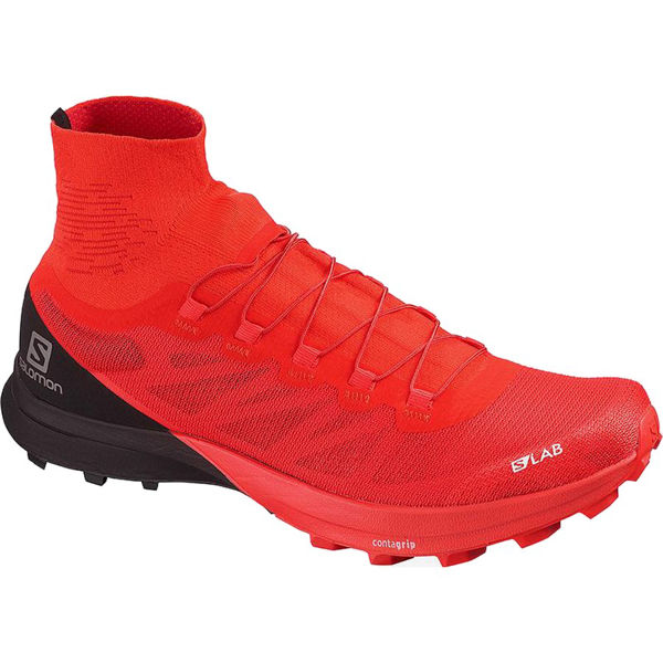 Picture of SALOMON TRAIL RUNNING SHOES S/LAB SENSE 8 SG RACING RED