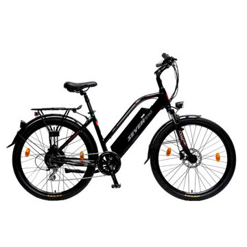 """Picture of SEVEN PEAKS ELECTRIC BIKE E-ONE 7H CITY 350W/10.5A 17"""" BLACK 2021"""
