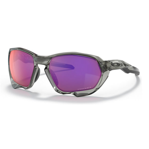 Picture of OAKLEY SUNGLASSES PLAZMA GREY INK/PRIZM ROAD