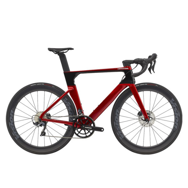Picture of CANNONDALE ROAD BIKE SYSTEMSIX CARBON ULTEGRA CANDY RED 2021