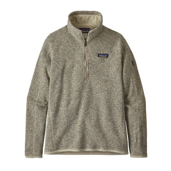 Picture of PATAGONIA ALPINE SKI SWEATERS BETTER SWEATER 1/4 ZIP PELICAN FOR WOMEN