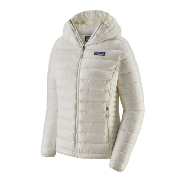 Picture of PATAGONIA ALPINE SKI JACKETS DOWN SWEATER HOODY BIRCH WHITE FOR WOMEN