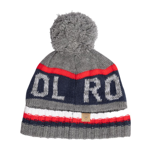 Image sur TUQUE ROSSIGNOL GARY HEATHER GREY POUR HOMME